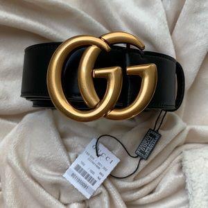 🌷New Gucci Belt Åüthentíć Double G Marmot j